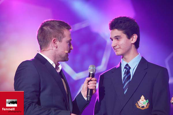 Speaking at the BTYSTE Opening Ceremony